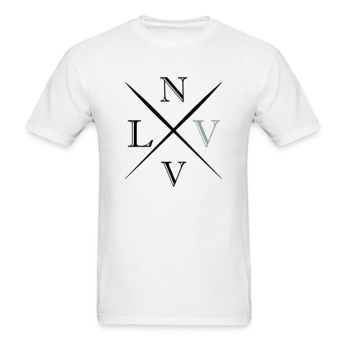 Las Vegas Crosshatch - Men's T-Shirt