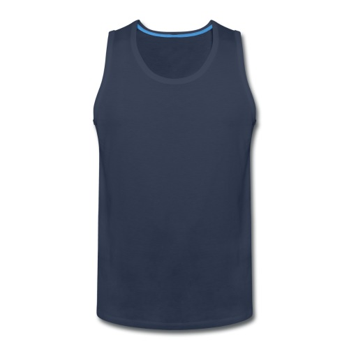 Dark Blue Tank-Top - Men's Premium Tank