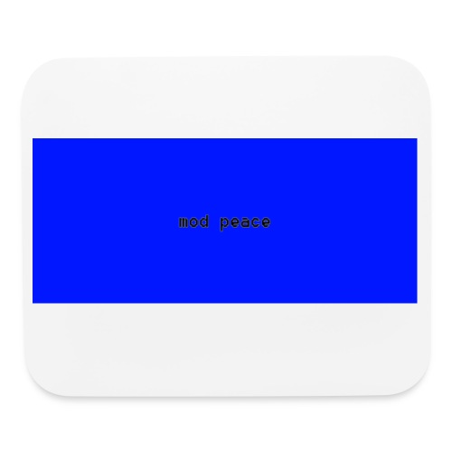 Mod peace Youtuber's mouse pad - Mouse pad Horizontal