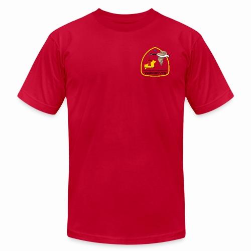 NA 173 red - Men's Fine Jersey T-Shirt