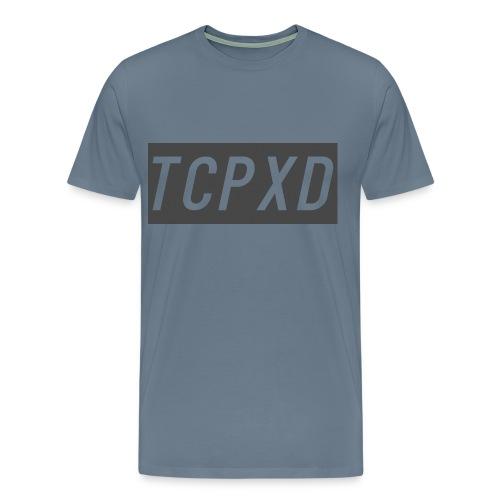 Light Blue and Grey - Men's Premium T-Shirt