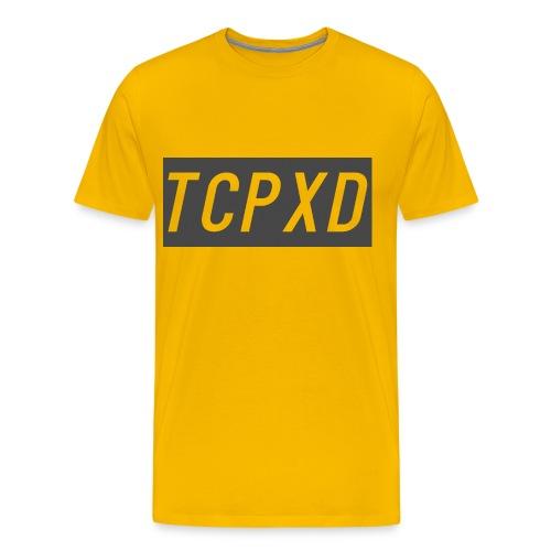 Yellow and Grey - Men's Premium T-Shirt