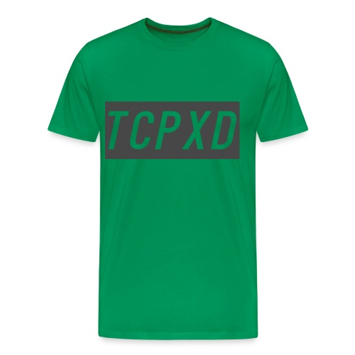 Green and Grey - Men's Premium T-Shirt