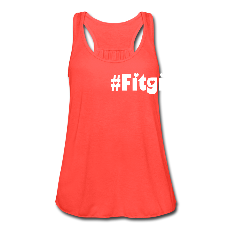 #Fitgirl - Women's Flowy Tank Top by Bella