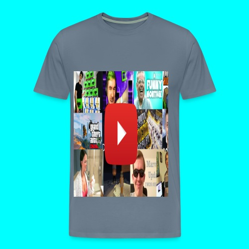 I HEART YOUTUBE Custom Tee - Men's Premium T-Shirt