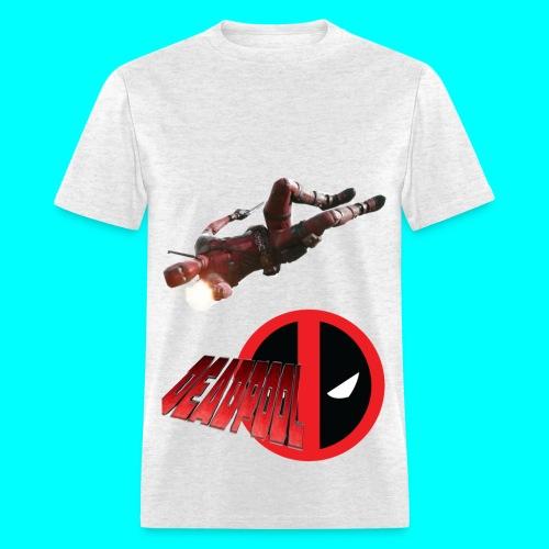 Deadpool Shells Custom Tee - Men's T-Shirt