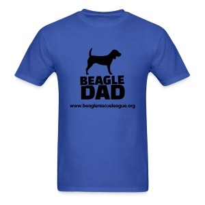 Beagle Dad - Men's T-Shirt
