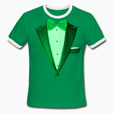 Green St.Paddy's DayTuxedo T-Shirts