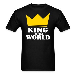 King of the World - Men's T-Shirt