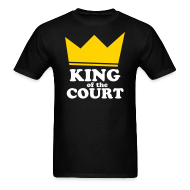 T-Shirts ~ Men's T-Shirt ~ King of the Court