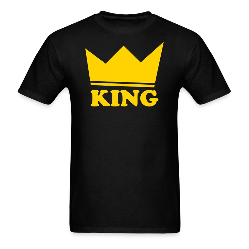 King of theAdd Your Text - Men's T-Shirt