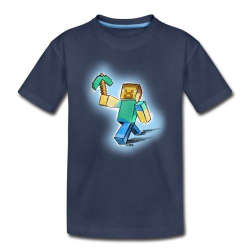 Minecraft Miner! - Kids' Premium T-Shirt