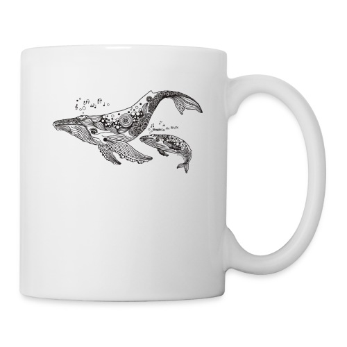 South Seas Whale Coffee/Tea Mug - Coffee/Tea Mug