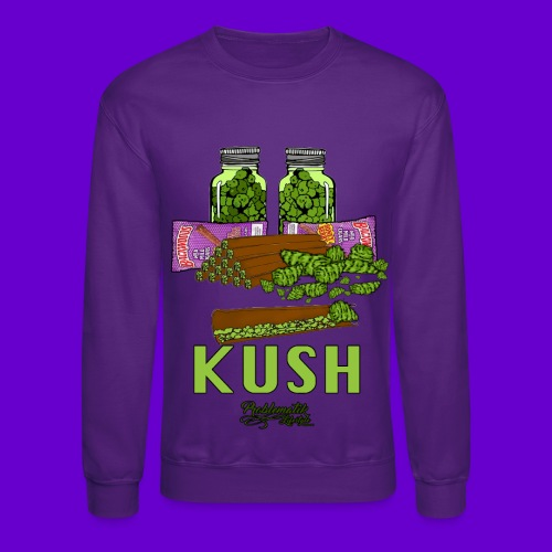 Kush N Blunts Crewneck - Crewneck Sweatshirt