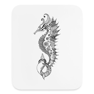 South Seas Tribal Seahorse Mouse pad Vertical - Mouse pad Vertical