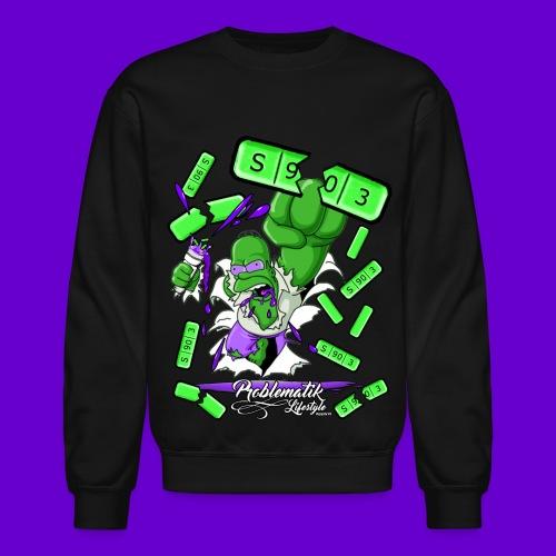 Green Hulk Crewneck - Crewneck Sweatshirt