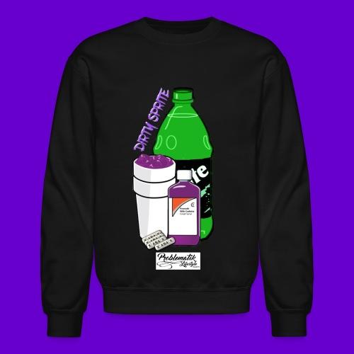 Dirty Sprite Crewneck - Crewneck Sweatshirt
