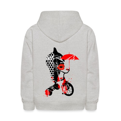 RELEASE YOUR INNER CHILD - back print - s/l kids - Kids' Hoodie