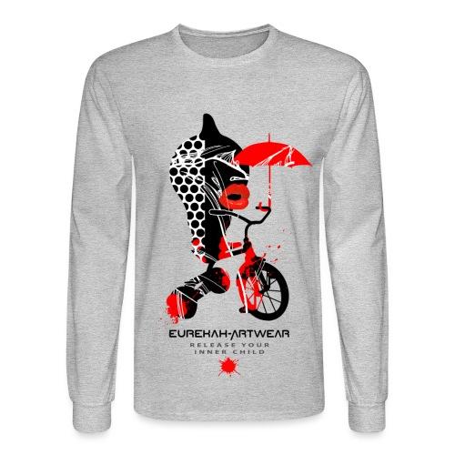RELEASE YOUR INNER CHILD - front print - s/xxl - Men's Long Sleeve T-Shirt