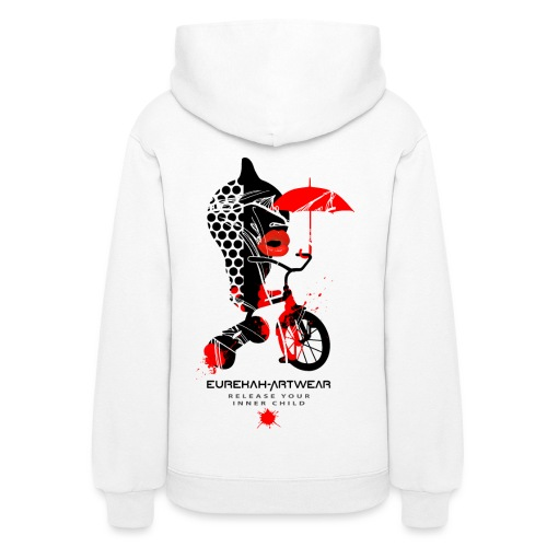 RELEASE YOUR INNER CHILD - back print - s/xxl - Women's Hoodie