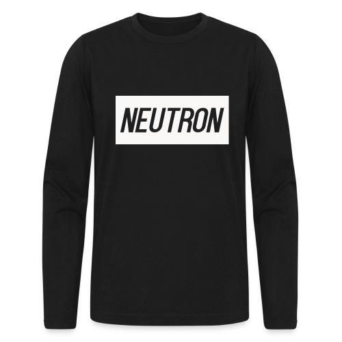 Men's Long Sleeve Logo T-Shirt (White Logo) - Men's Long Sleeve T-Shirt by Next Level