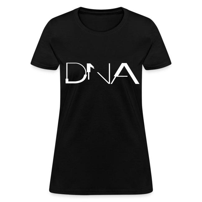 NITCHNOT-LIMITED EDITION DIGITAL INTERIOR CD DNA FEMALE T-SHIRT
