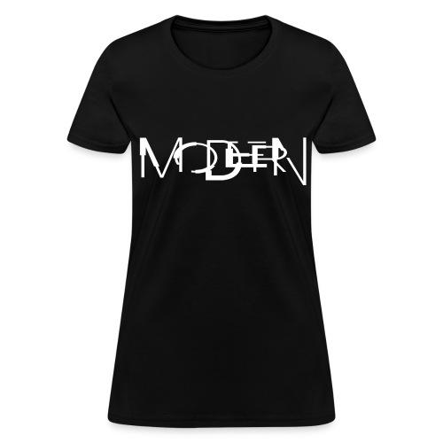 NITCHNOT-LIMITED EDITION DIGITAL INTERIOR CD MODERN FEMALE T-SHIRT - Women's T-Shirt