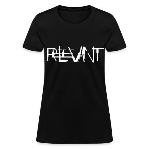 NITCHNOT-LIMITED EDITION DIGITAL INTERIOR CD RELEVANT FEMALE T-SHIRT - Women's T-Shirt