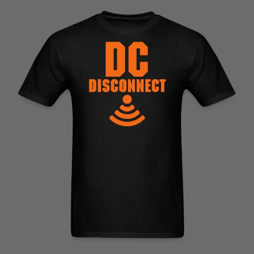 DC Disconnect  - Men's T-Shirt