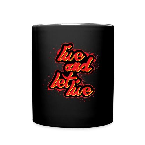 live and let live - Full Color Mug