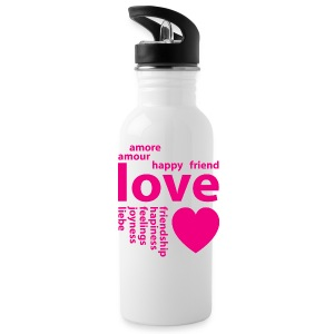 Loving words Sportswear - Water Bottle