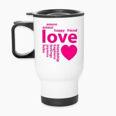Loving words Mugs & Drinkware