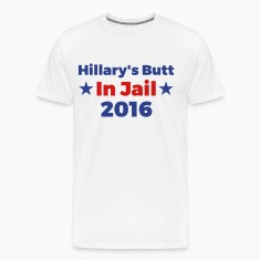 Hillary's Butt In Jail 2016