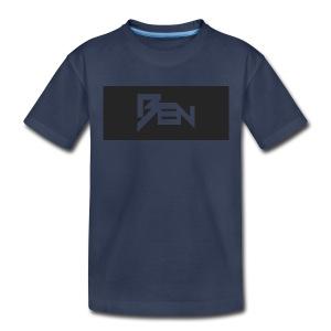 Dark Navy Ben T-shirt. - Toddler Premium T-Shirt