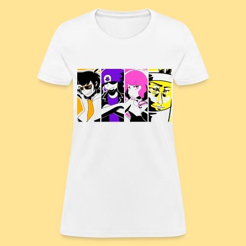 Women's Manga Panel Tee - Women's T-Shirt