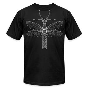 Megaloptera, whiteline (Men's) - Men's Fine Jersey T-Shirt