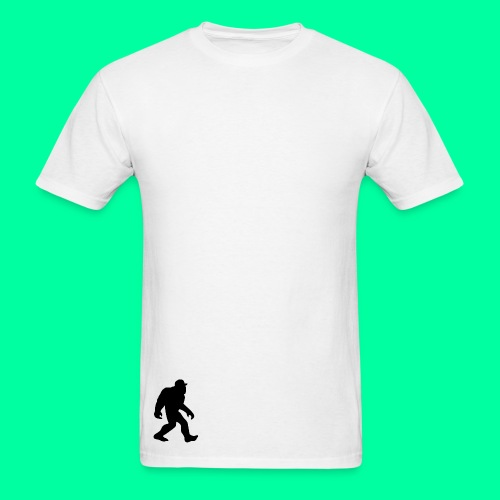 Apeman Plain White Tee - Men's T-Shirt