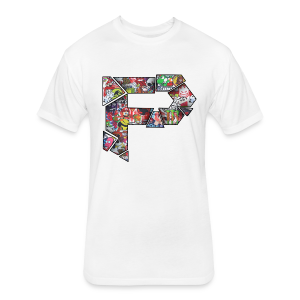 InSaNe Tee! - Fitted Cotton/Poly T-Shirt by Next Level