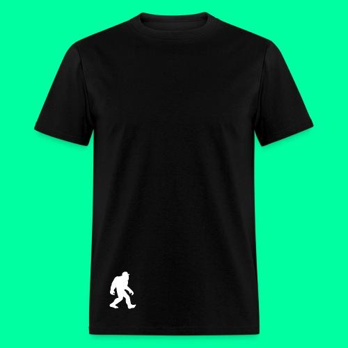 Apeman Plain Black Tee - Men's T-Shirt