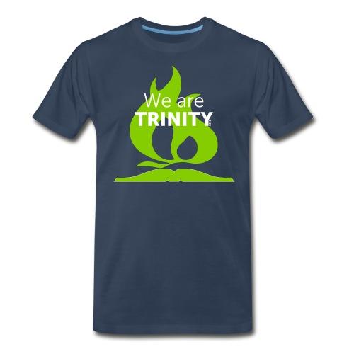 We are Trinity (Green on Blue) - Men's Premium T-Shirt