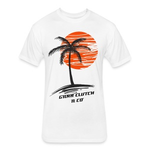 GNAR PALMS PREMIUM SHIRT - Fitted Cotton/Poly T-Shirt by Next Level