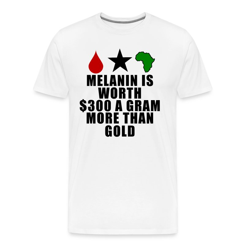 melanin is worth  300 a gram more than gold t