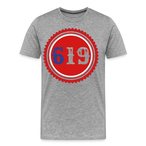 619 (SIXNINETEEN) T-Shirt - Men's Premium T-Shirt