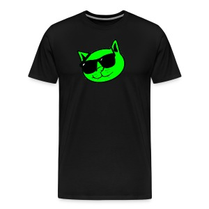 Kat Face & Logo - Men's Premium T-Shirt