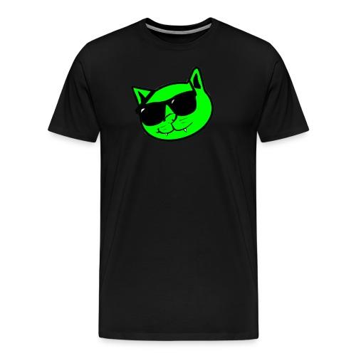 Kat Face & Logo - Men's Premium T-Shirt