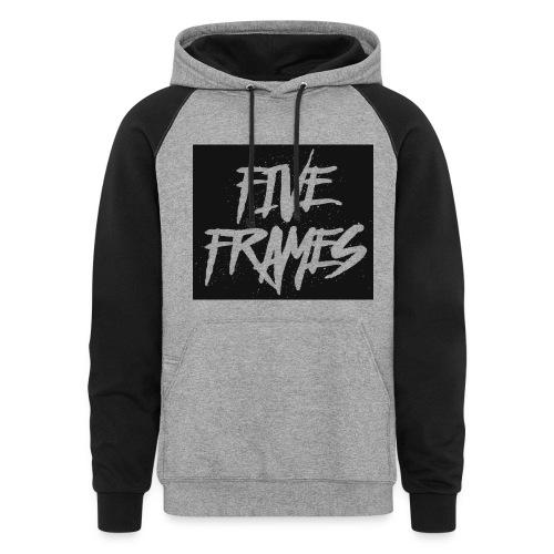 Five Frames Hoodie - Colorblock Hoodie