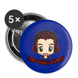 Lord Karu Games 5-Pack of buttons 2-1/4  - Large Buttons