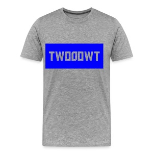 Two0owT shirt with blue design - Men's Premium T-Shirt