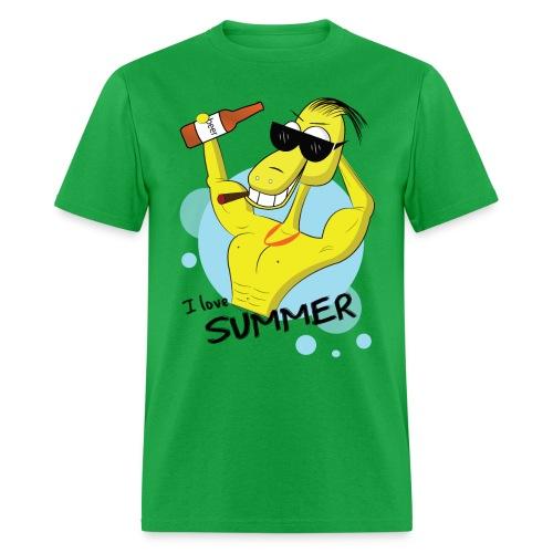 I love summer ! - Men's T-Shirt