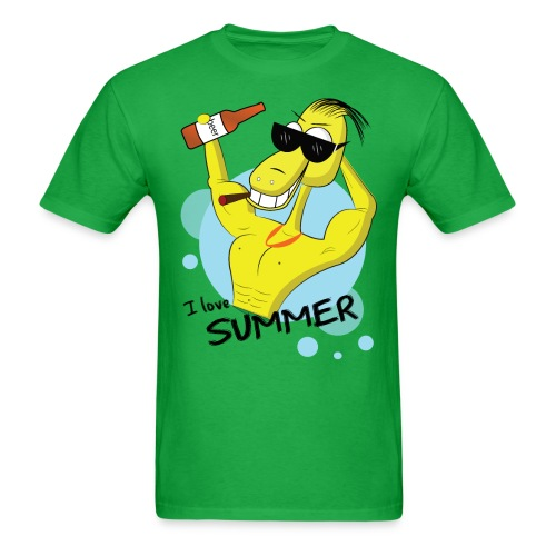 I love summer ! - Men's T-Shirt